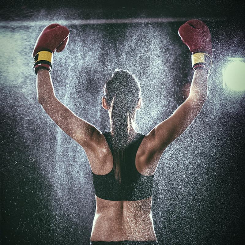 女子搏击塑型